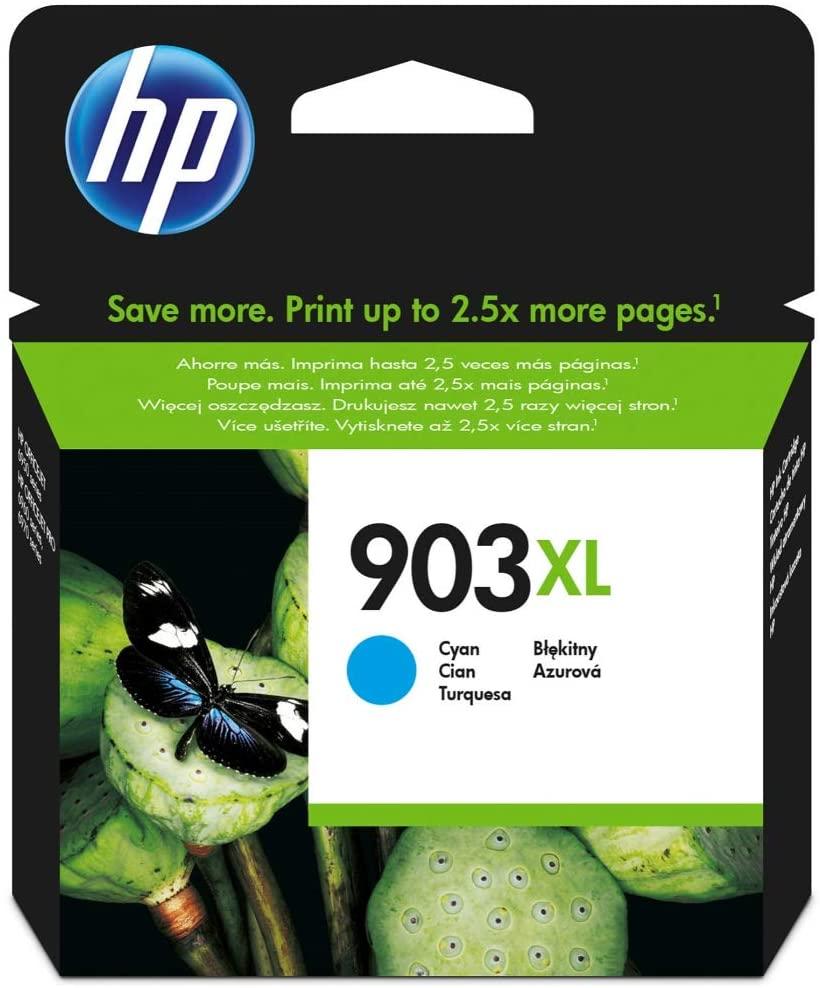 HP 903XL Blau Original Druckerpatrone mit hoher Reichweite für HP Officejet 6950; HP Officejet Pro 6