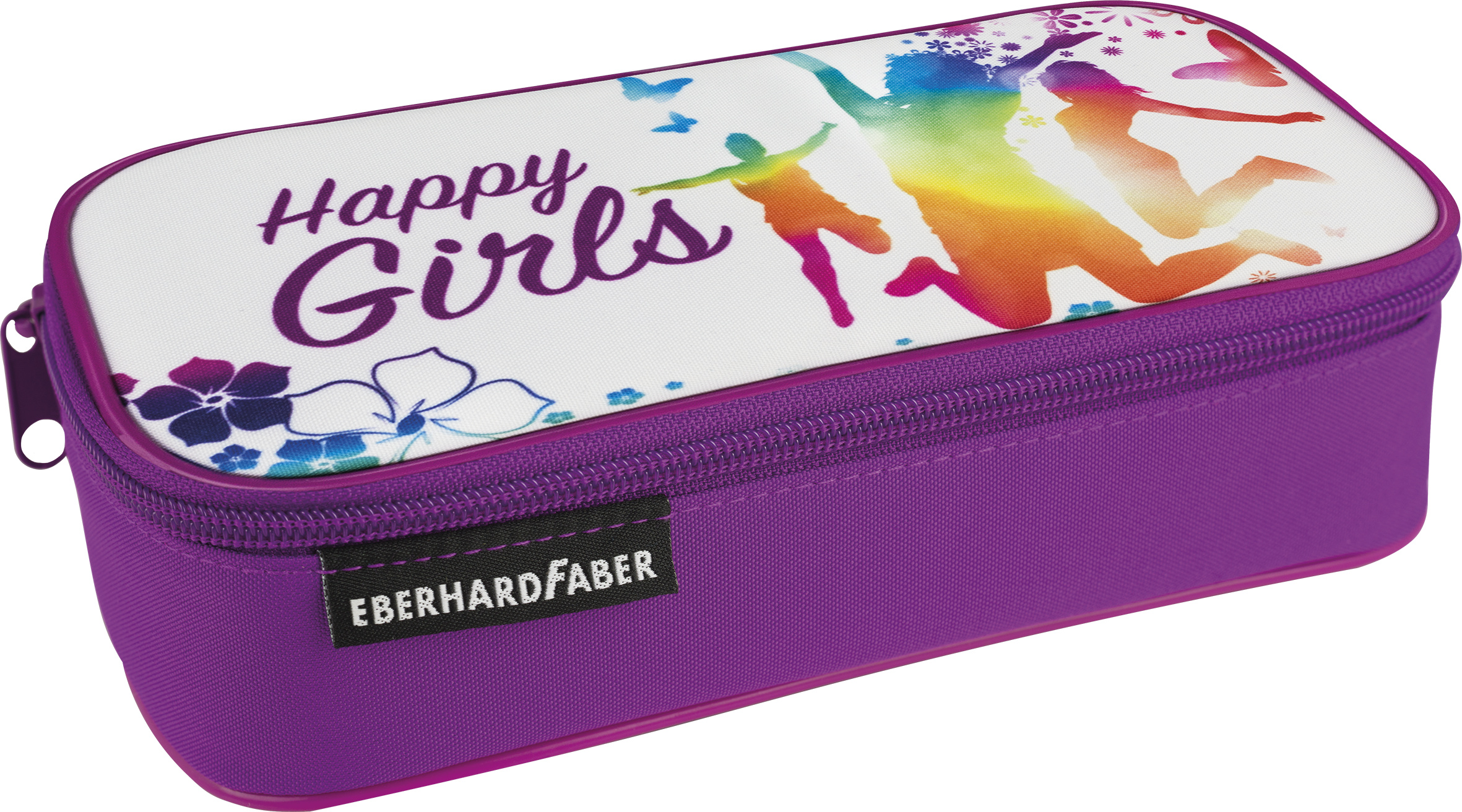 EberhardFaber Jumbo Schlamperbox Happy Girls