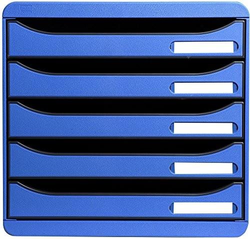 EXACOMPTA Big-Box Plus Classic in Eisblau 5 Fächer DIN-A4
