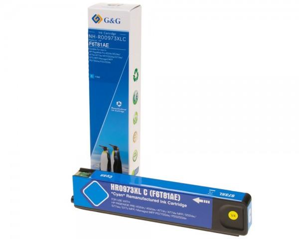 G&G Image Druckerpatrone kompatibel zu HP 973XL Cyan