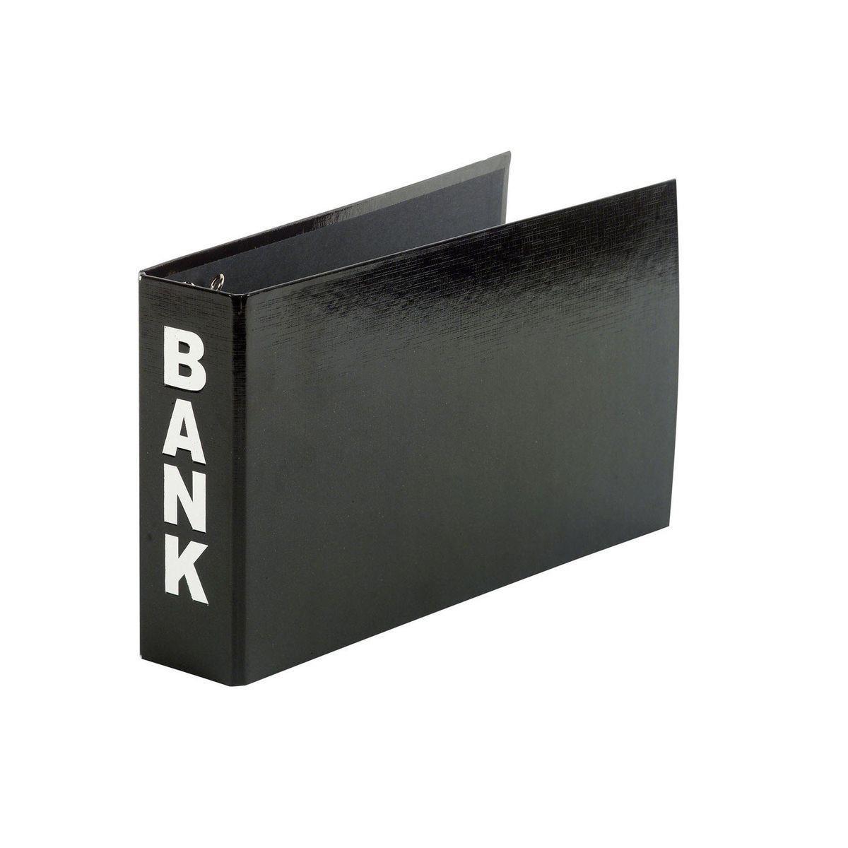 Pagna® Bankordner Color-Einband - für Format A5, Farbe schwarz
