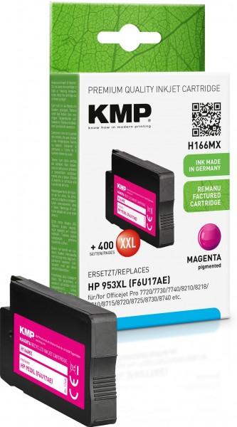 KMP H166MX magenta Tintenpatrone ersetzt HP OfficeJet Pro HP953XL (F6U17AE)