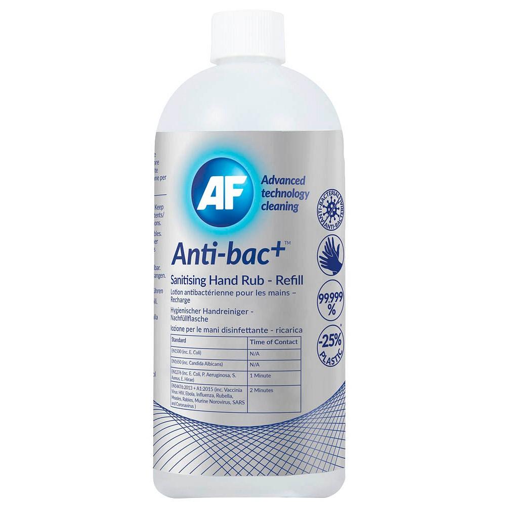 AF International Antic-bac+ Händedesinfektionsgel 1x 500ml. (GP 1,50€/100ml.)