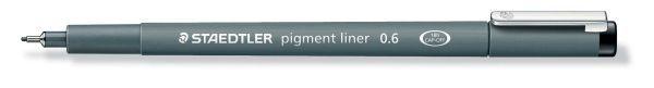 Staedtler® Fineliner pigment liner 308, 0,6 mm, schwarz