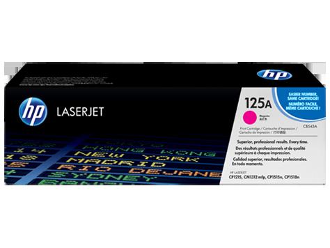 Vorschau: Original HP Toner CB543A für COLOR LASERJET CP1215/1515/1518 magenta