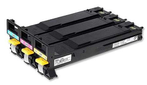 Vorschau: A06VJ53 KONICA MC5550 TONER(3) HC3x12.000pages (1xcy/1xma/1xye)