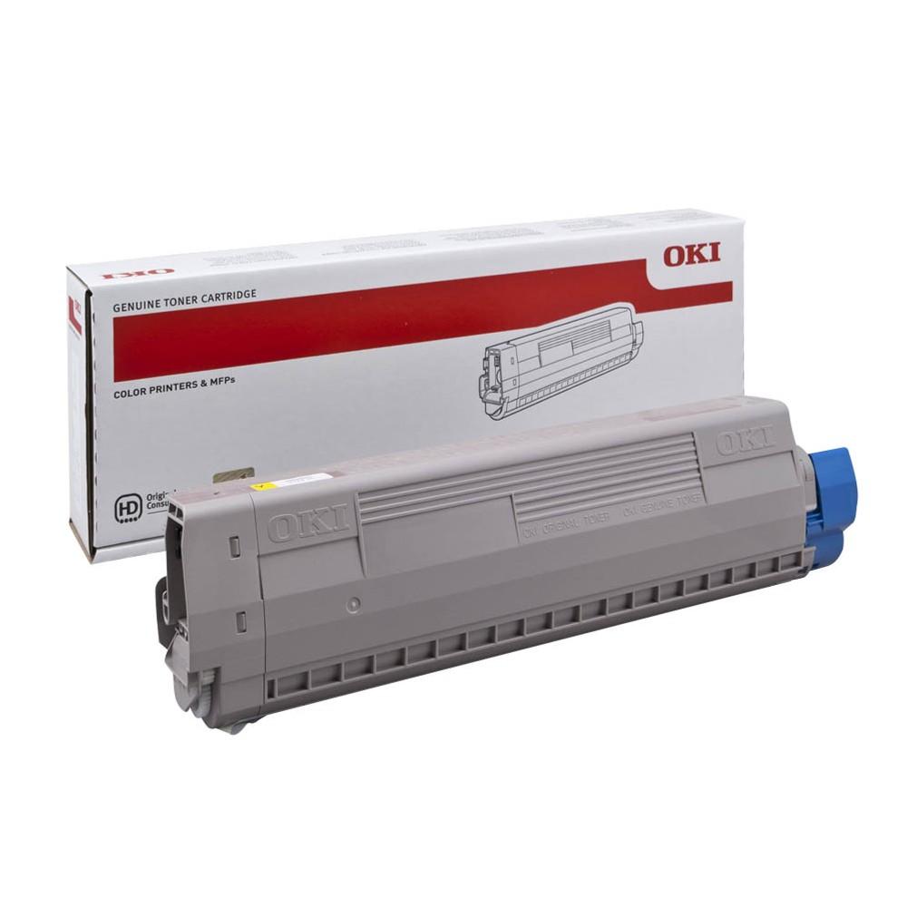 Original OKI 44844505 gelb Toner für C831 / C841 / C831DM