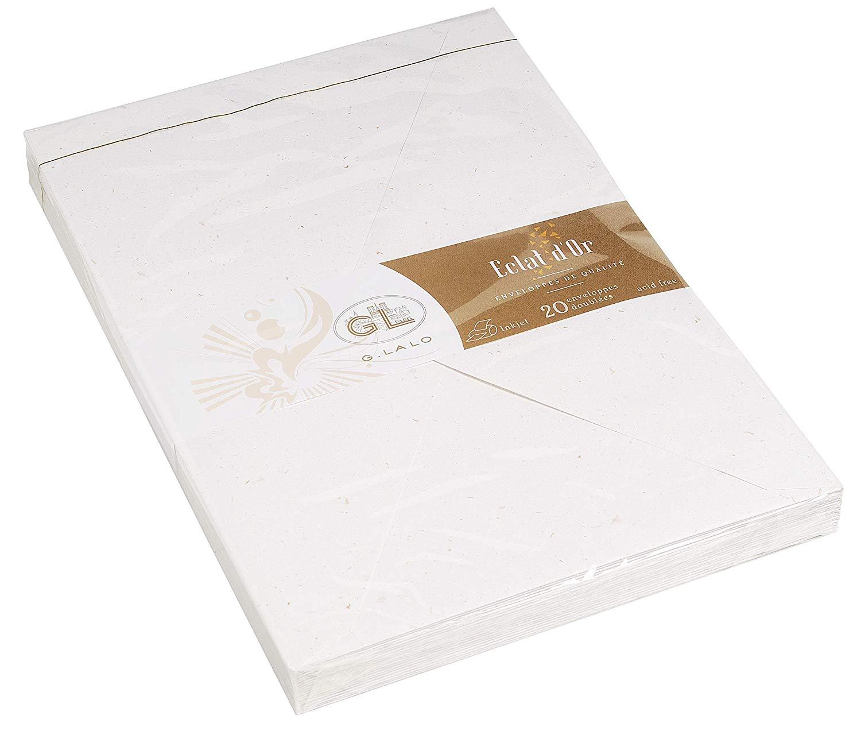 G. LALO Blattgoldpapier Umschläge C5 100 g/m² 20 Stück