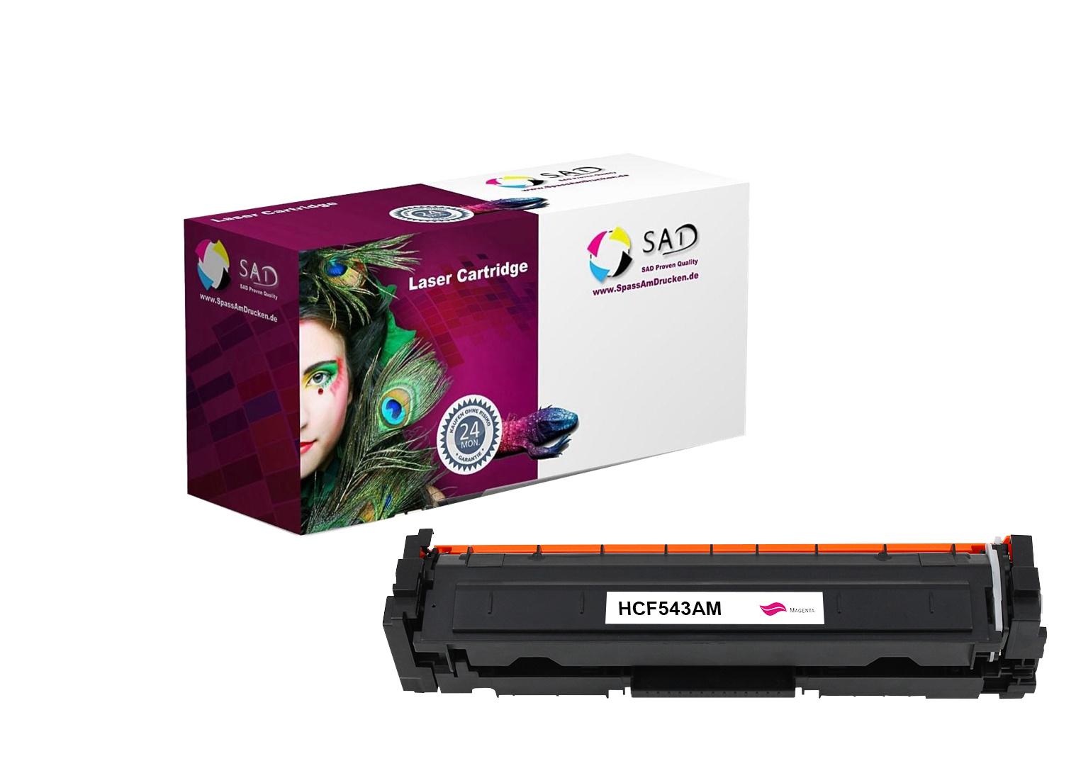 SAD Premium Toner komp. zu HP 203A - CF543A für HP LaserJet Pro M254, HP LaserJet Pro M280, HP Laser
