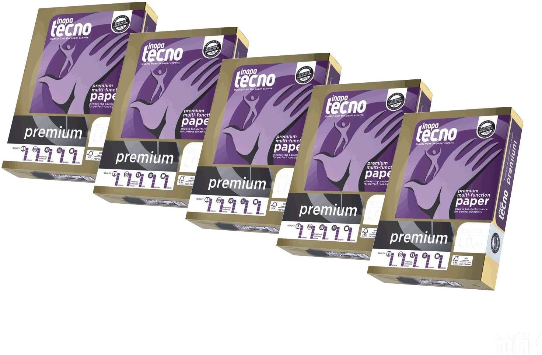 Inapa Tecno Premium FSC Kopierpapier 90g/m² DIN-A4 2500 Blatt