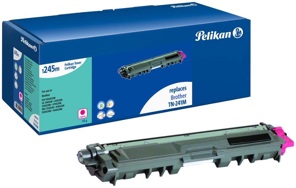 Pelikan Toner für Brother TN-241M DCP-9020 CDW etc. magenta