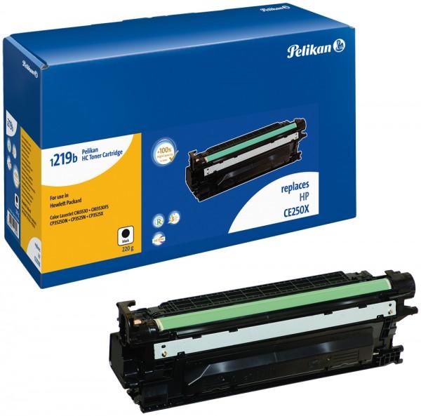 Pelikan Toner 1219 komp. zu CE250X HP LaserJet CP3525 black