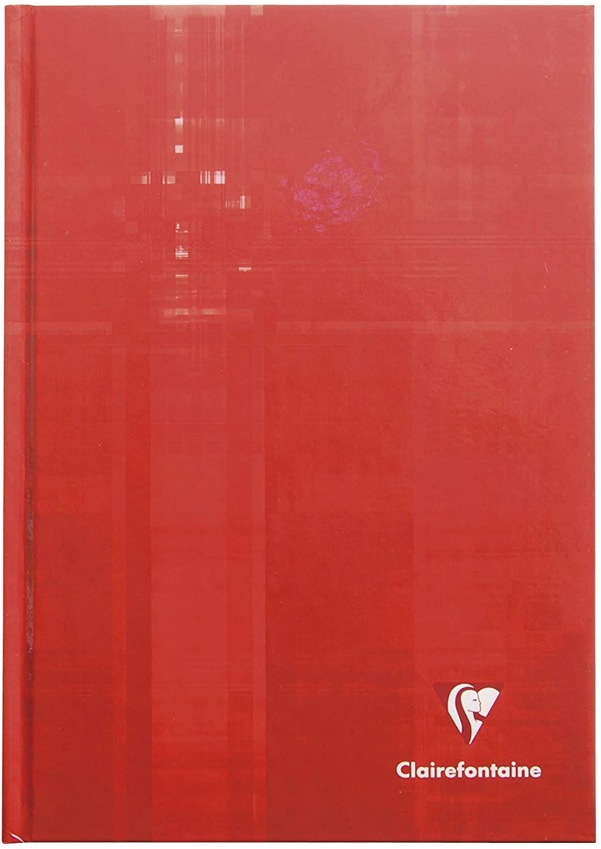 Clairefontaine 9512C6 5er Pack Kladde A5, starker Deckel, kariert, 96 Blatt (Sortiert)