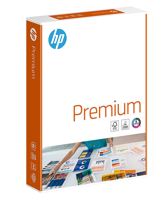 HP Premium Druckerpapier CHP852 - 90 g, DIN-A4, 500 Blatt, weiß, Extraglatt