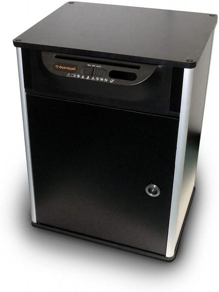 Bonsaii 510910 Docshred | Druckertisch Aktenvernichter |Partikelschnitt | 7 Blatt |10 Liter | 4x20 m