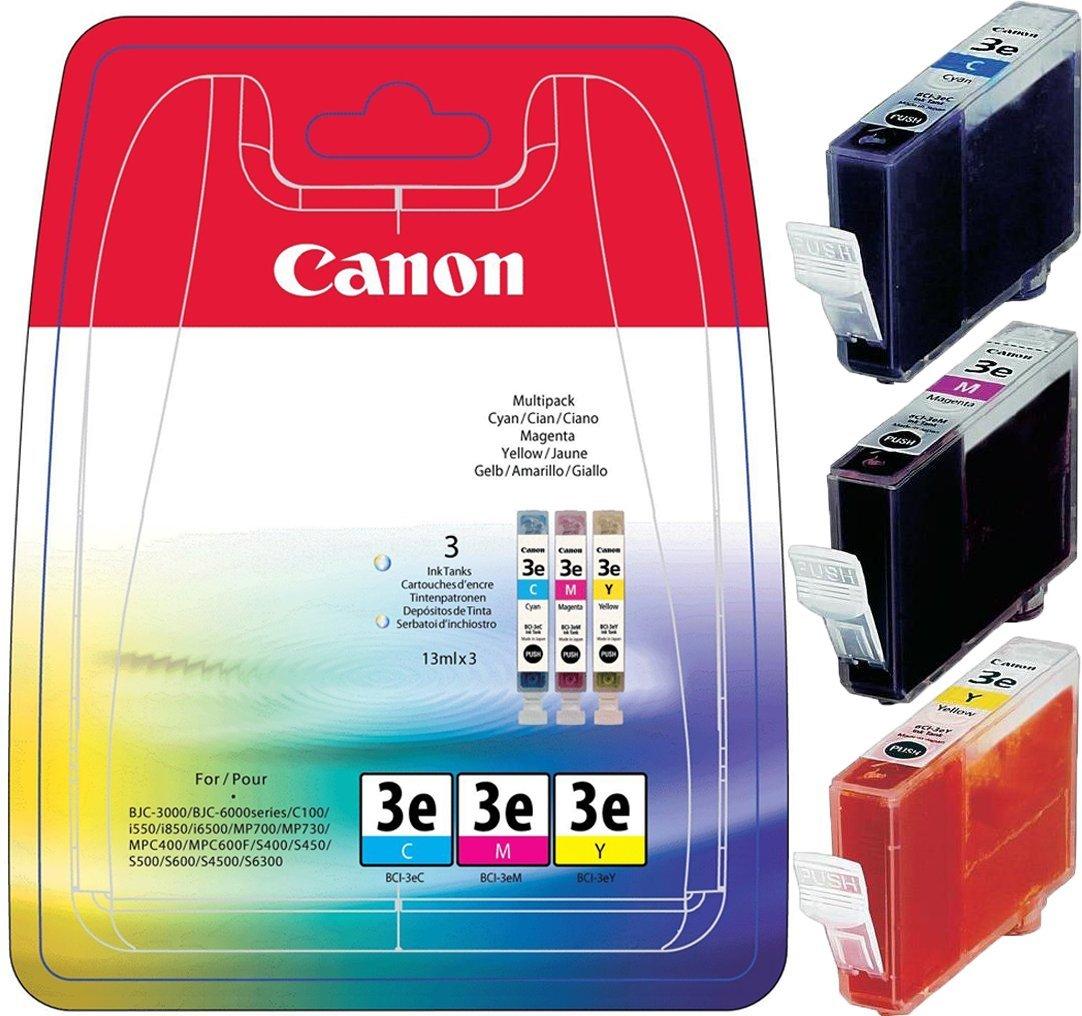 Vorschau: Original Canon BCI-3e Multipack BJC 3000 6000 c / m / y