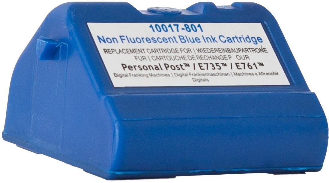 KMPPatrone für Pitney Bowes 769-B Post E700 Serie blau