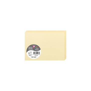 Doppelkarten C6 2327C Clairefontaine Rhodia 25 Karten gefaltet (110 x 155mm) - Elfenbein