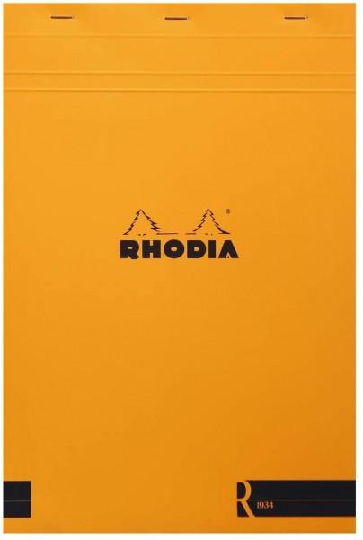 Rhodia 192011C Notizblock (kopfseitig geheftet, DIN A4, liniert, 22,5 x 29,7 cm, 70 Blatt) 1 Stück o