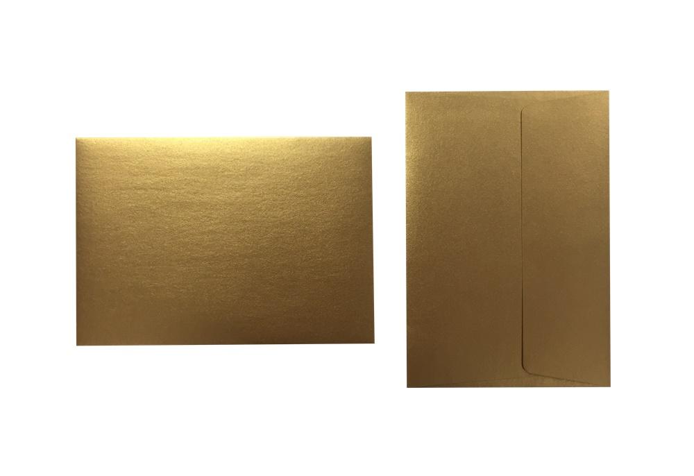 Inapa Shyne Umschläge C6 Golden Copper 120g/m² 100 Stück