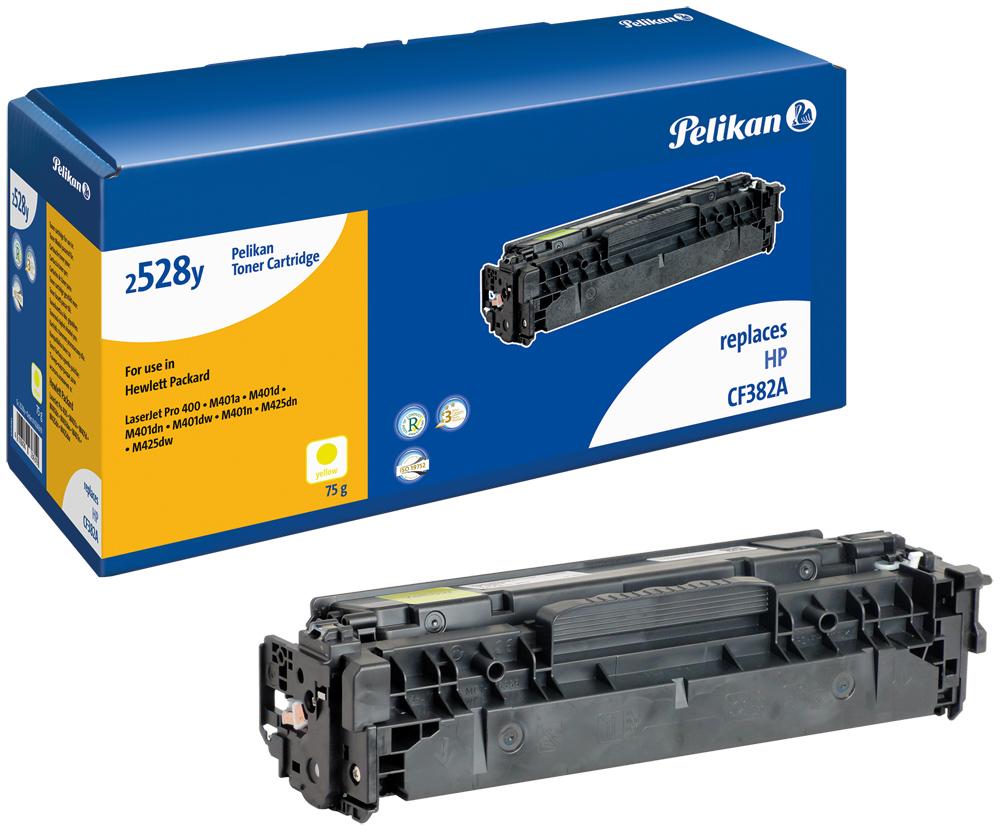 Pelikan Toner 2528y komp. zu CF382A Color Laserjet Pro MFP M476 dn etc. yellow