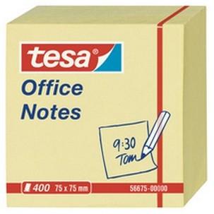 Vorschau: tesa Office Notes 400 Blatt, Würfel gelb 75mm x 75mm