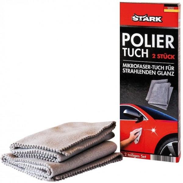 STARK 40054 Poliertuch-Set, 2-Teilig