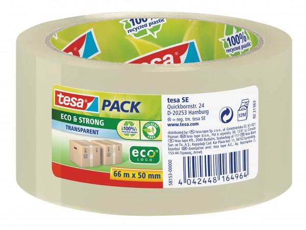 GP: 0,05 EUR/m tesa tesapack Eco & Strong 66m x 50mm transparent