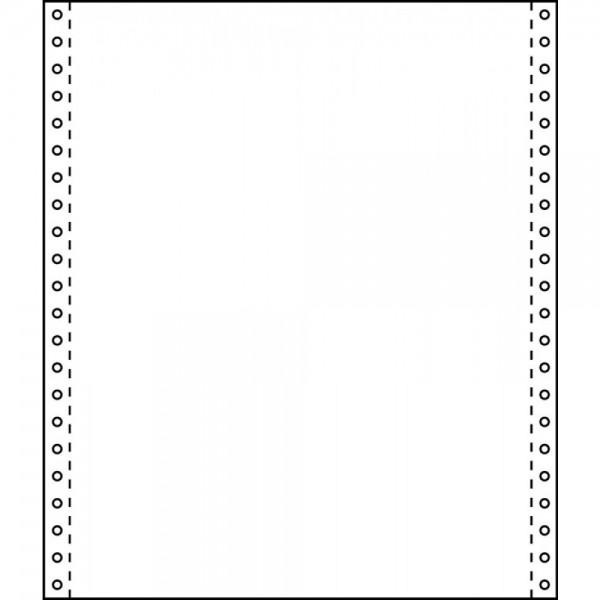 Tabellierpapier 24,0 x 30,5 cm, 60g/m² blanko 3 fach