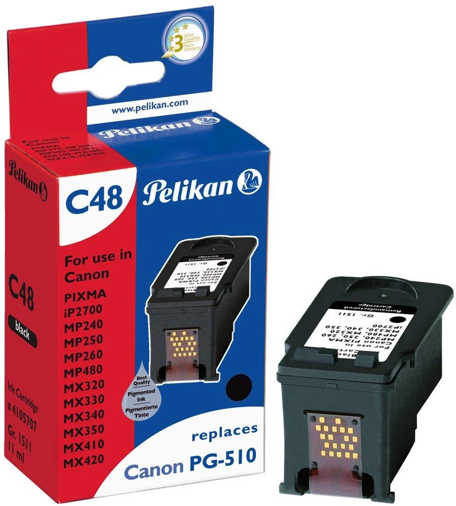 Pelikan Tintenpatrone ersetzt Canon PG-510, Black, 220 Seiten
