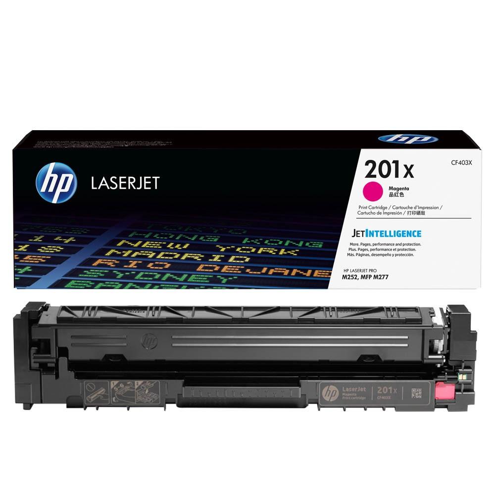 Original HP 201X (CF403X) magenta Toner HP Color LaserJet Pro M252/MFP 274n/M277