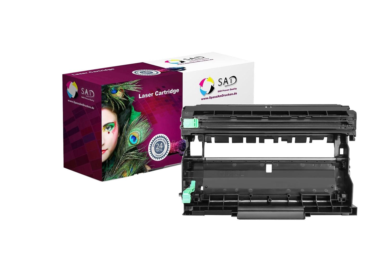 SAD Premium Trommel komp. mit Brother DR-2400 schwarz/black für DCP-L2510D, HL-L2370DN etc.