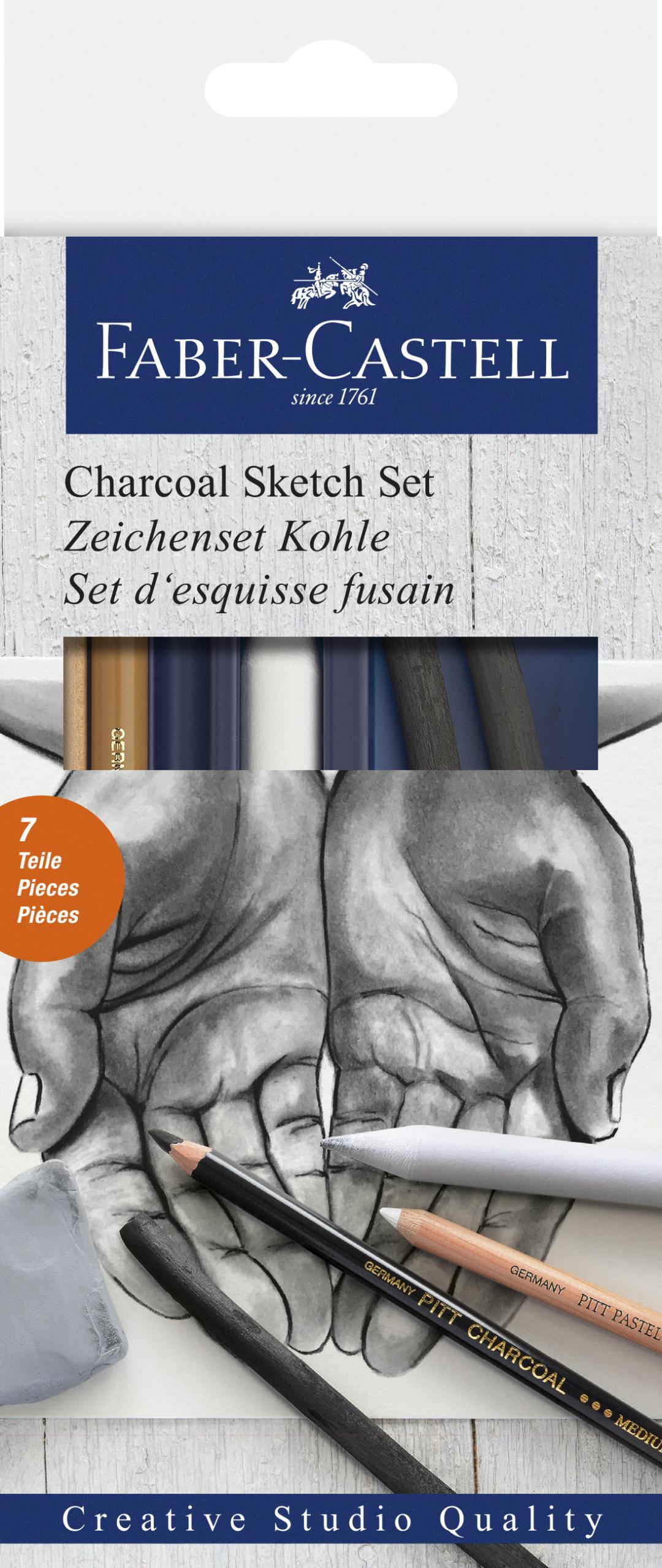 Faber-Castell Zeichenset Kohle