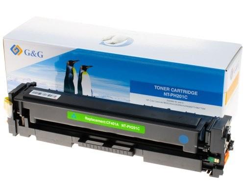 G&G Toner kompatibel zu HP 201A/ CF401A Cyan