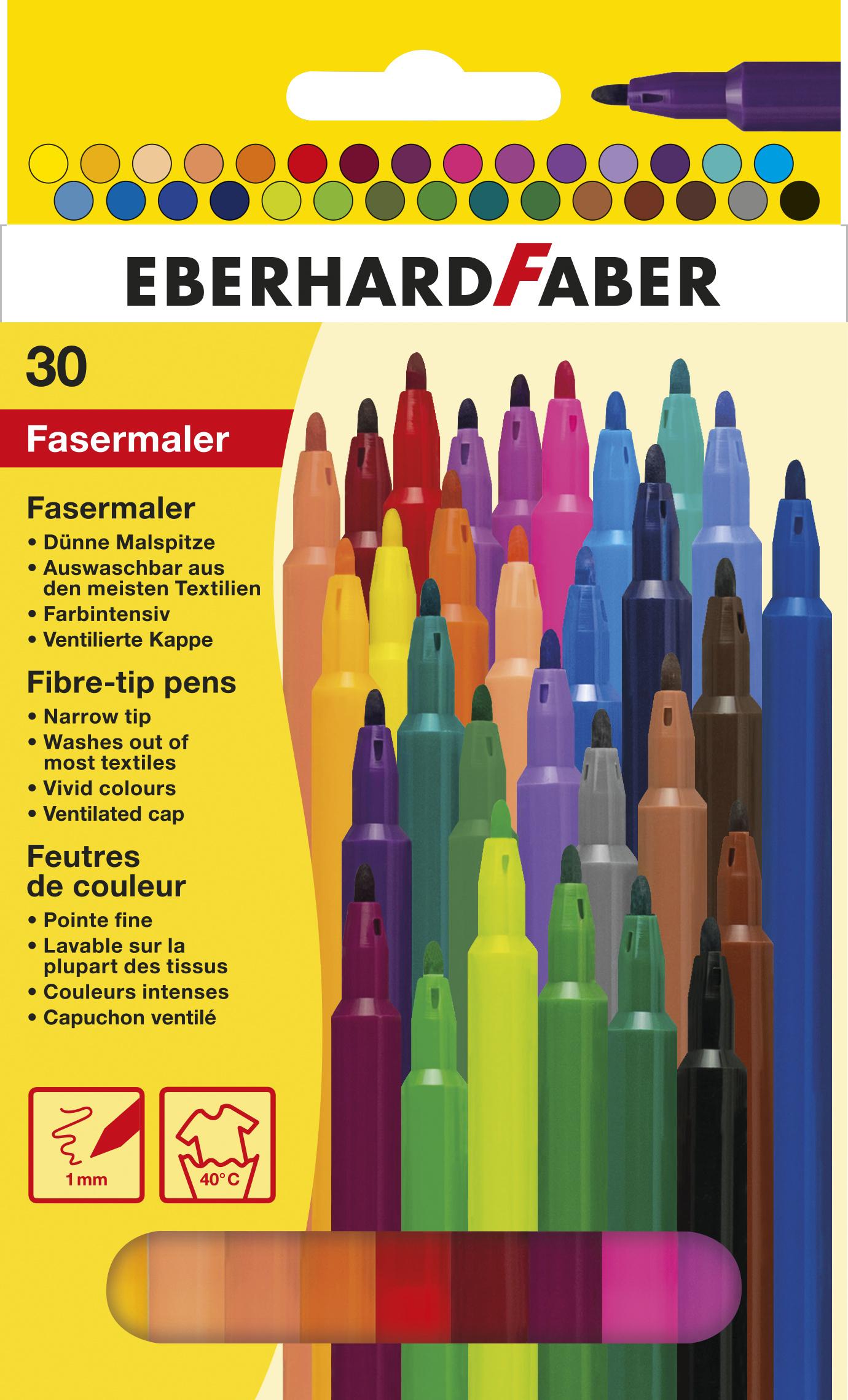 EberhardFaber Fasermaler 30er Etui