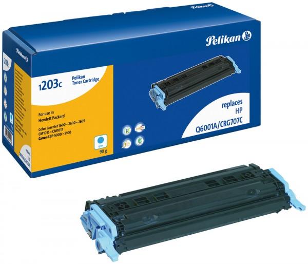 Pelikan Toner 1203 komp. zu Q6001A HP Color LaserJet 1600 cyan