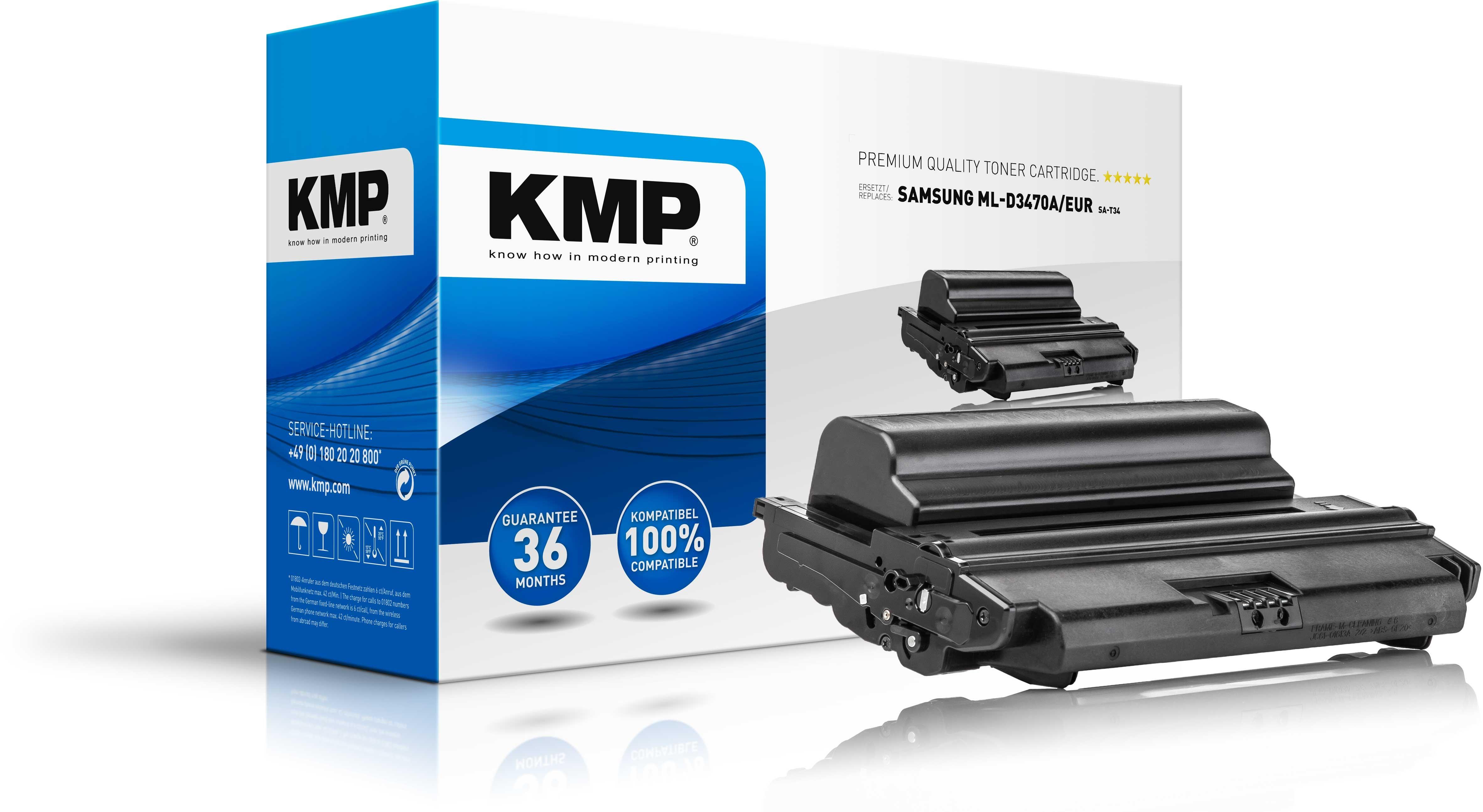 Vorschau: KMP Toner SA-T34 für Samsung MLT-D3470 ELS ML-3470 D / 3471 ND schwarz