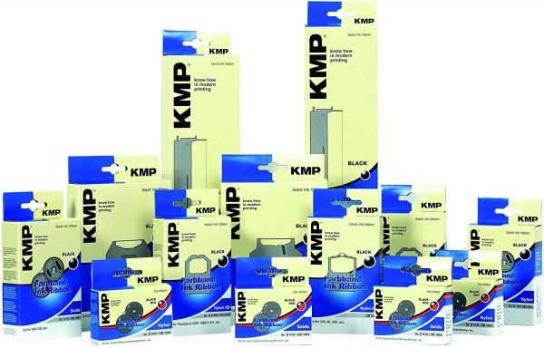 KMP Farbband Gr. 187 Nylon kompatibel mit Triumph-Adler Gabriele 8008 - black - 13mm x 6m