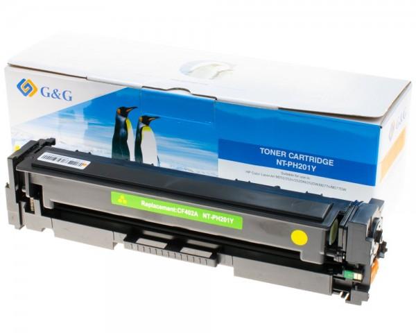 G&G Toner kompatibel zu HP 201A/ CF402A Gelb