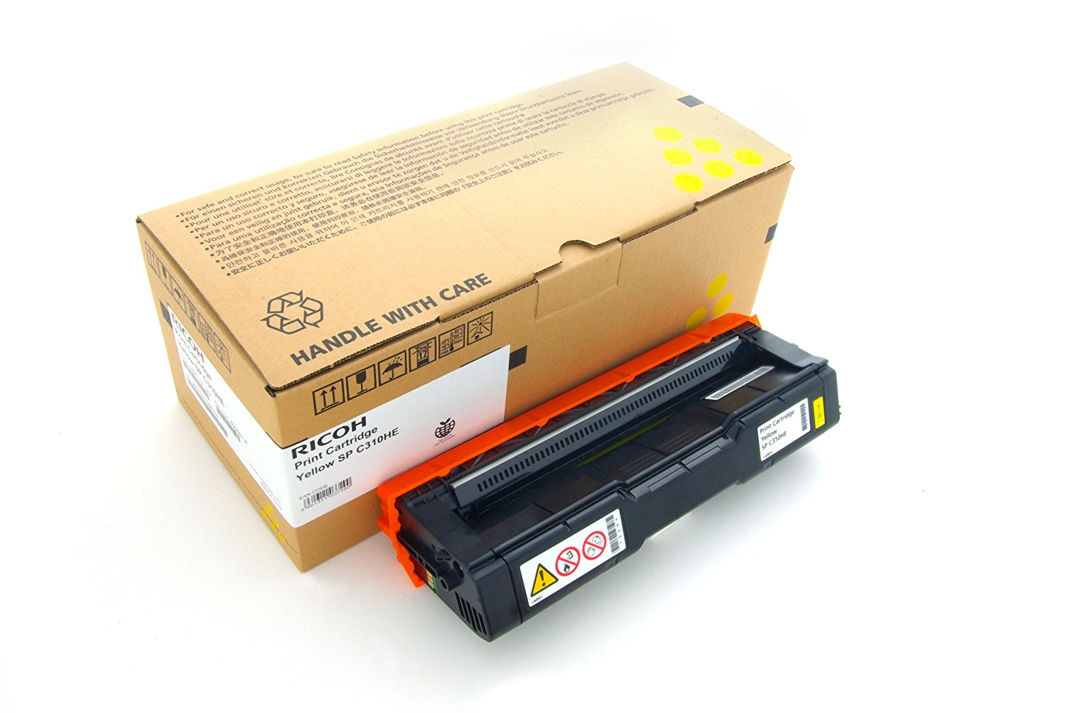 Original RICOH C242SF TONER YE6000pages yellow