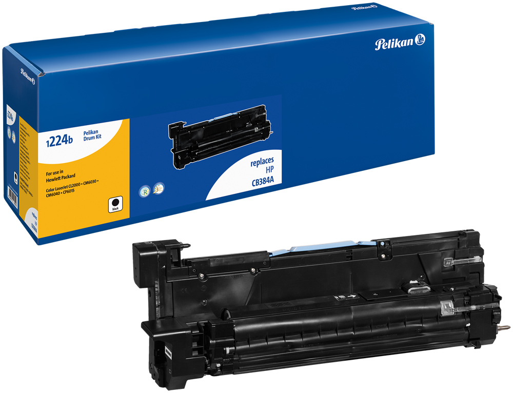Pelikan Toner 1224DRb  komp. zu CB384A  color LaserJet CL2000 etc. black