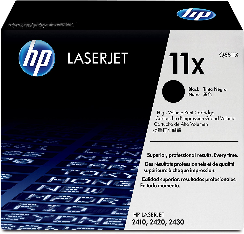 Vorschau: Original HP Toner 11X / Q6511X für LASERJET 2410 2420 2430 schwarz