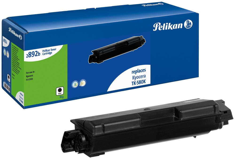 Pelikan Toner 2892b komp. zu TK-580K Kyocera FS-C5150 black
