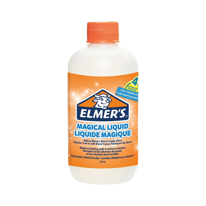 Elmer's Magische Flüssigkeit für Klebeslime, Flasche, 259 ml
