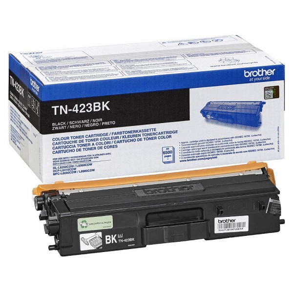 Original Brother Toner TN-423BK schwarz ca. 6.500 Seiten