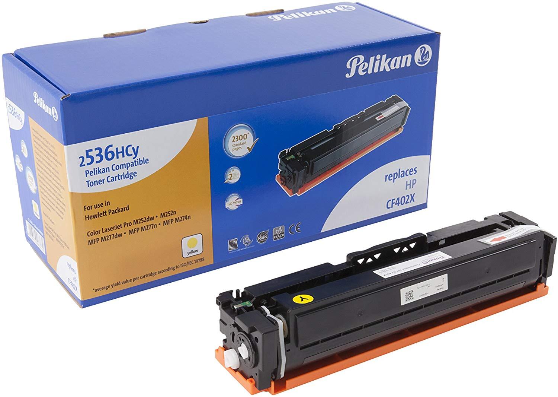 Pelikan Toner ersetzt HP CF402X, Yellow, 2300 Seiten
