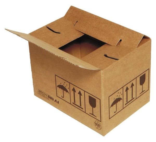 Elepa - rössler kuvert Versandkarton 334x284x187 mm, braun