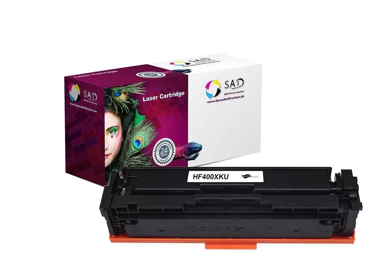 SAD Premium Toner komp. mit HP 201X / CF400X black ca. 2.800 Seiten