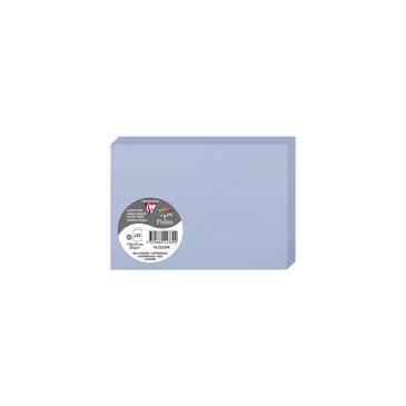 Doppelkarten C6 22339C Clairefontaine Rhodia 25 x 210g Lavendelblau (110 x 155)