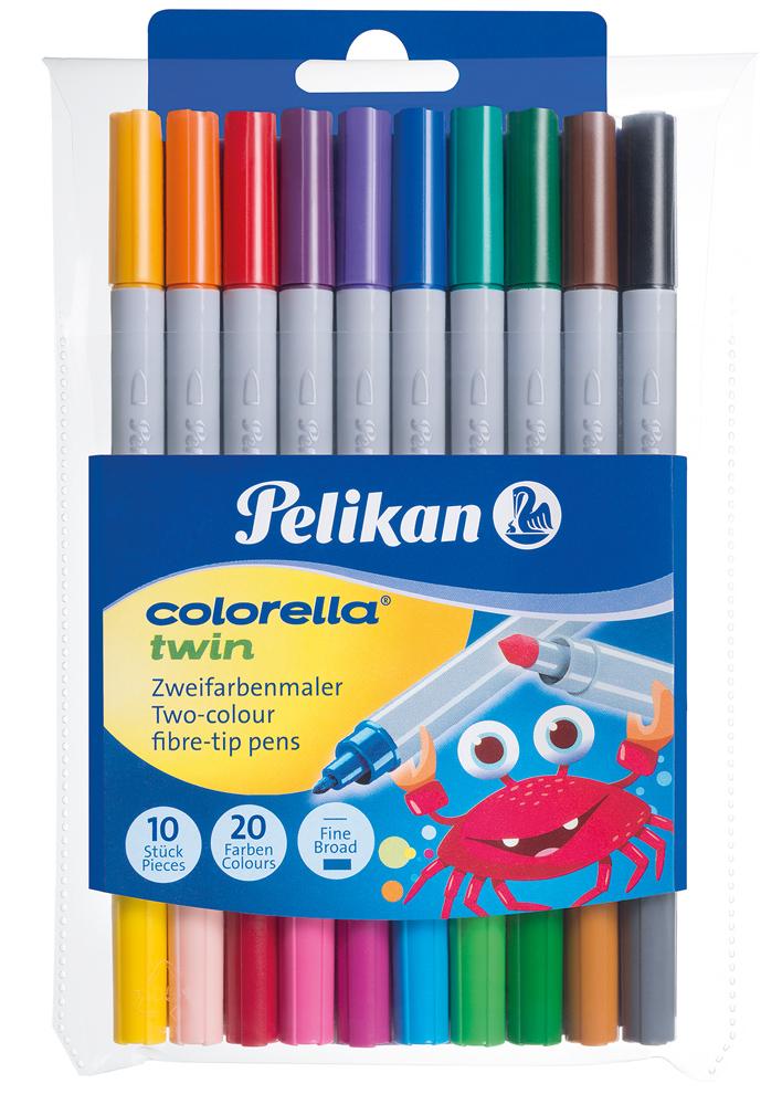 Pelikan Colorella twin C 304 10 Stifte = 20 Farben